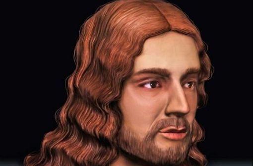 Gesicht Raffaels rekonstruiert