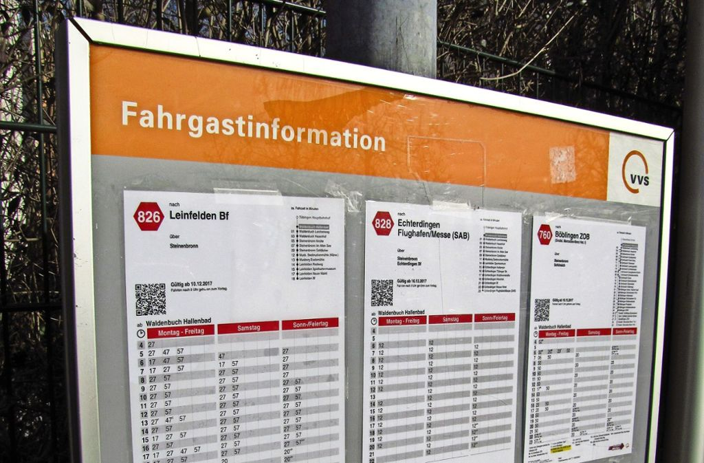 Der Betreiberwechsel auf den Buslinien 826, 828 und 760 verursacht Ärger. Foto: Barner