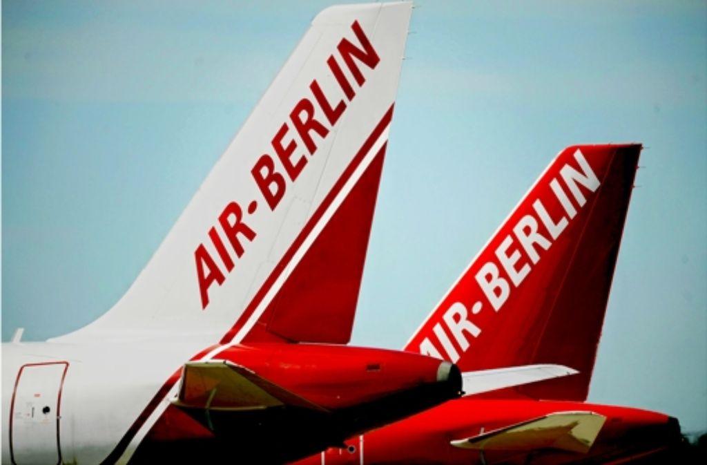Bei Air Berlin soll mehr gespart werden. Foto: dapd