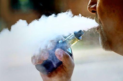 Lungenkrank durch  E-Zigaretten-Genuss?