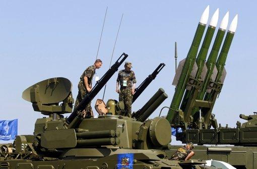 Separatisten räumen Besitz von BUK-Rakete ein