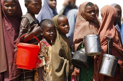Schlimme Hungersnot im Südsudan und Somalia