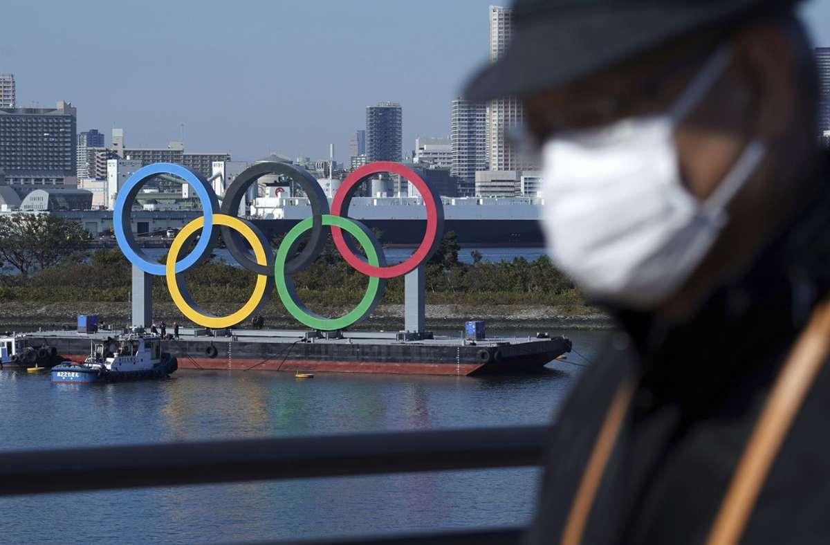 Die Olympiastadt Tokio wird keine ausländischen Besucher willkommen heißen können. Foto: dpa/Eugene Hoshiko