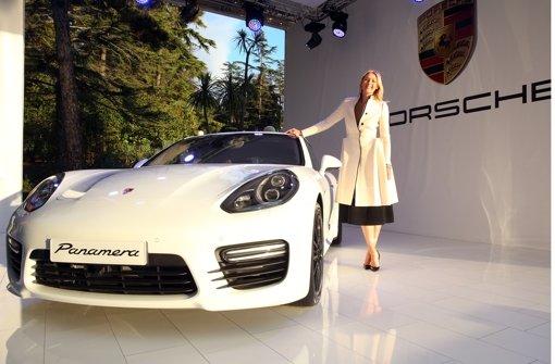 Porsche und Maria Scharapowa arbeiten seit 2013 eng zusammen.  Foto: Getty Images
