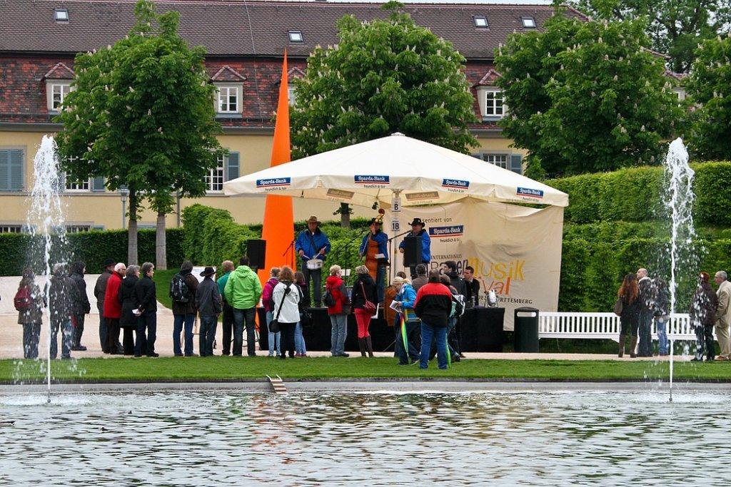In Ludwigsburg treffen sich vom 17. bis 19. Mai Straßenmusiker aus aller Welt zum 10. Internationalen Straßenmusikfestival - wir waren zum Auftakt dabei und haben in unserer Fotostrecke die Stimmung eingefangen.  Foto: Benjamin Beytekin