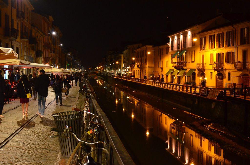 Auch ohne Wlan findet unser Campuskind Mailand immer noch wunderschön. Wie hier einen der Navigli-Kanäle. Foto: Wiebke Wetschera
