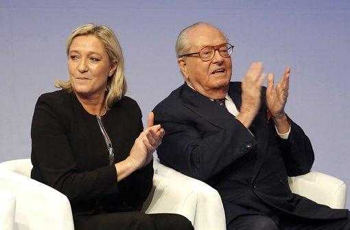 Jean-Marie Le Pen aus Partei ausgeschlossen
