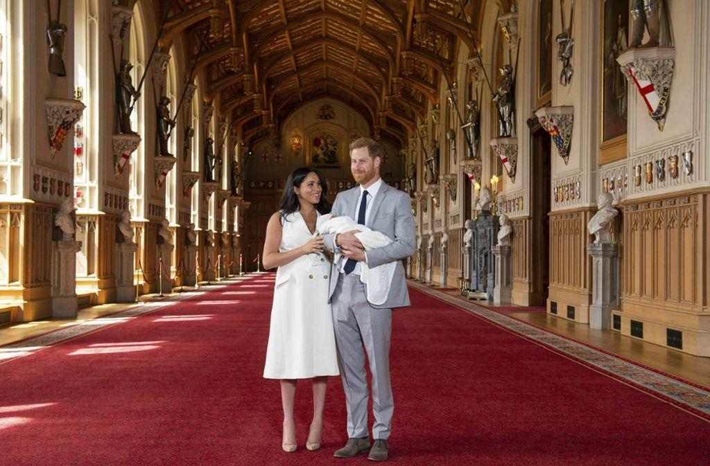 Der Name des  jüngsten Spross der britischen Königsfamilie ist nun bekannt. Foto: AP
