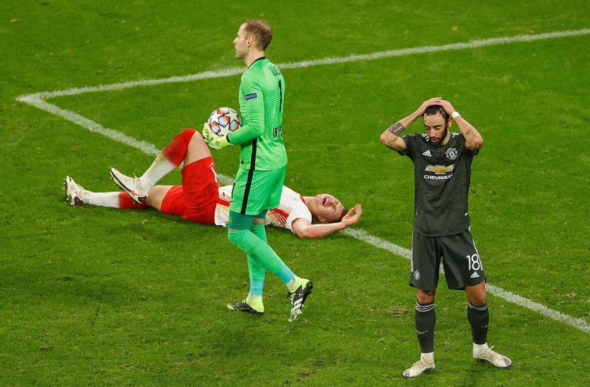 Drei Tage nach dem hochklassigen Bundesliga-Spitzenspiel beim FC Bayern (3:3) startete Leipzig rasant. Foto: AFP/ODD ANDERSEN