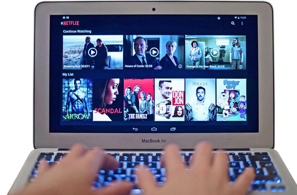 Netlfix ist nur einer von mehreren Anbietern, die auf Serien spezialisiert sind. Foto: dpa