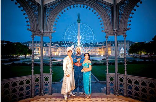 Disneyland für den Schlossplatz