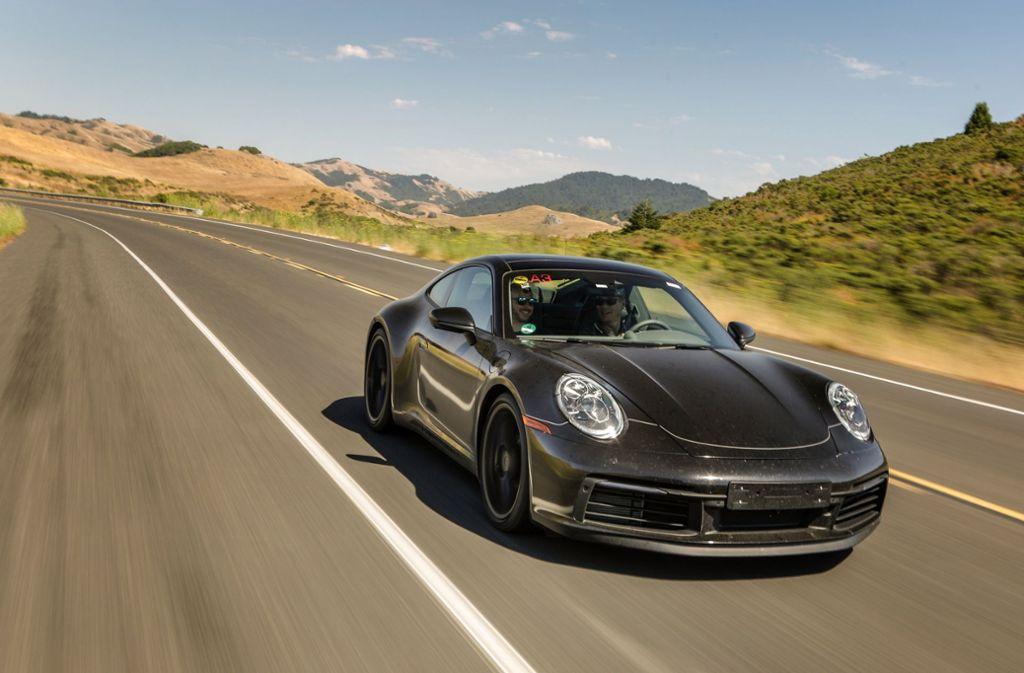 Der 911er von Porsche kostet im Abomodell 1899 Euro monatlich. Foto: Porsche AG