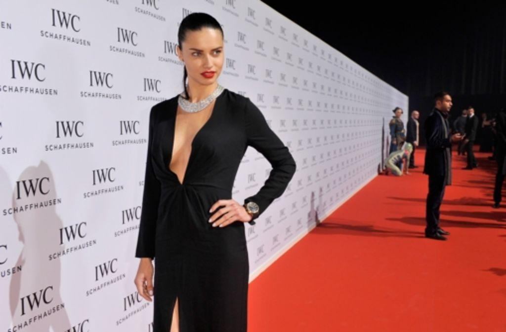 Victorias Secret-Engel Adriana Lima bei einer Gala des Luxusuhren-Herstellers IWC in Genf. Foto: Getty Images Europe