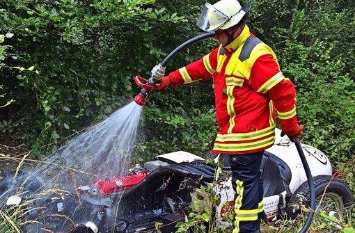 Die Feuerwehr ist an der Grenze der Belastung