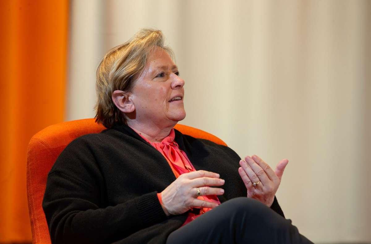 Kultusministerin Susanne Eisenmann (CDU) (Archivbild) Foto: LICHTGUT/Leif Piechowski/Leif Piechowski