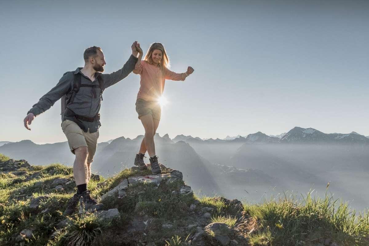 Die Destination Gstaad wartet mit drei wunderschönen Panoramarouten auf. Foto: Gstaad Saanenland Tourismus