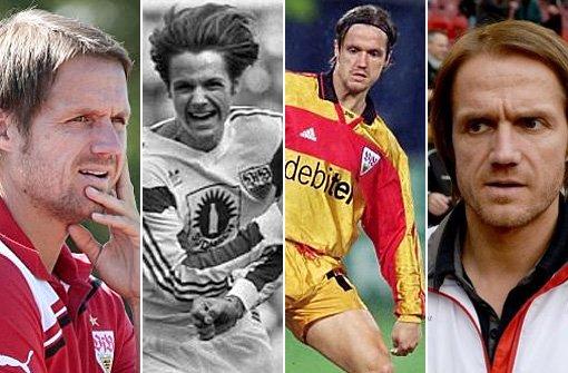 Die lange VfB-Karriere in Bildern