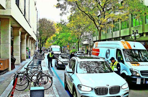 Lob und Kritik für    neue Eberhardstraße