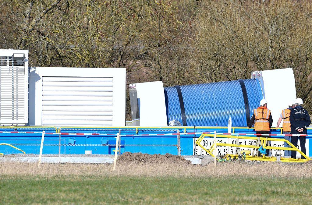 Die Gemeinde Neckarwestheim möchte die Catsor-Transporte verhindern. Foto: dpa