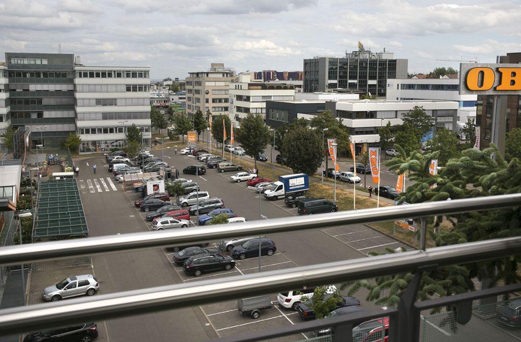 Eigentlich ist die Nikolaus-Otto-Straße in Echterdingen eher ruhig und unauffällig. Nicht so am Montagmorgen. (Archivbild) Foto: Horst Rudel