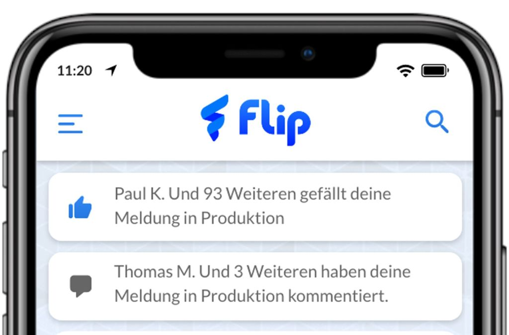 Die Kommunikationsapp ist auf die Bedürfnisse von Unternehmen und den deutschen Rechtsrahmen abgestimmt. Foto: Flip