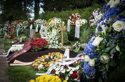 Mayer-Vorfelder in Steinhaldenfeld begraben