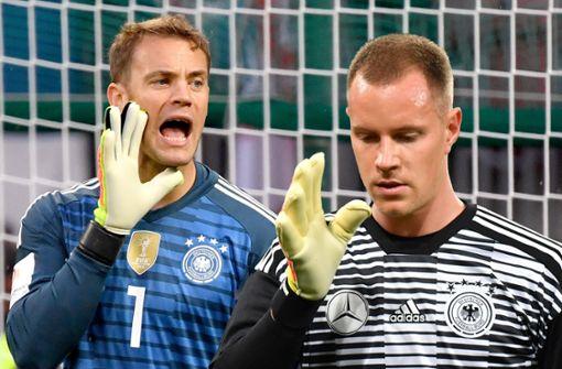Das ist das große Duell: Marc-André ter Stegen gegen Manuel Neuer