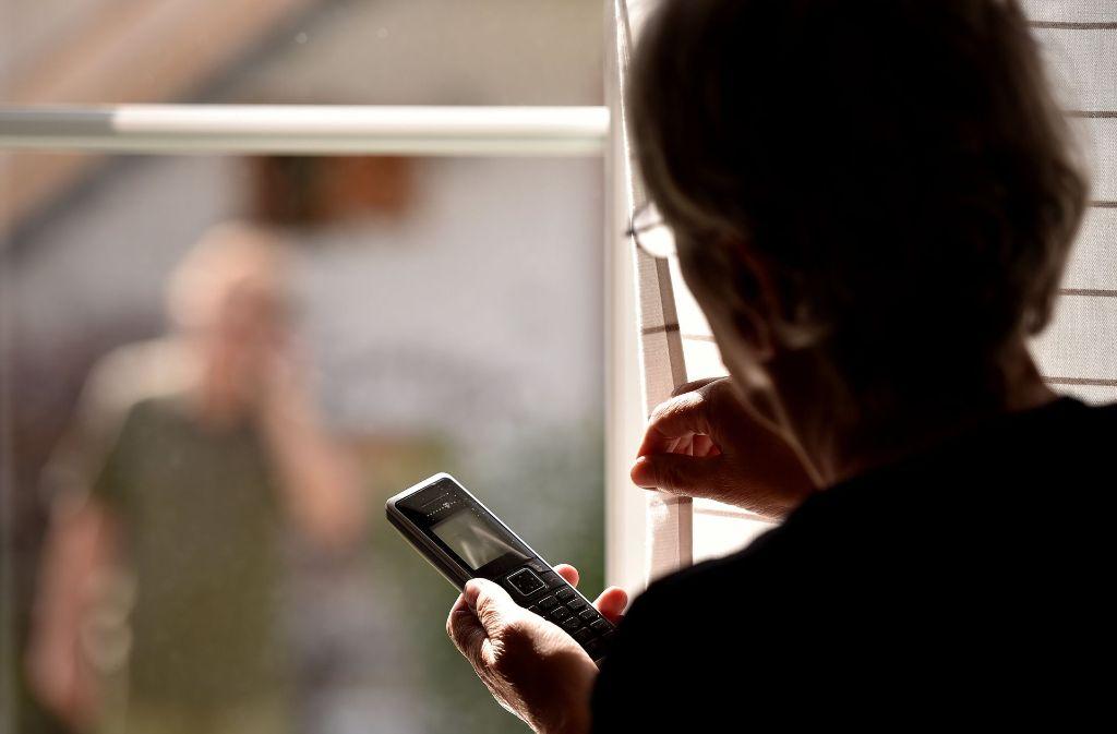 Stalking ist Psychoterror. Foto: dpa