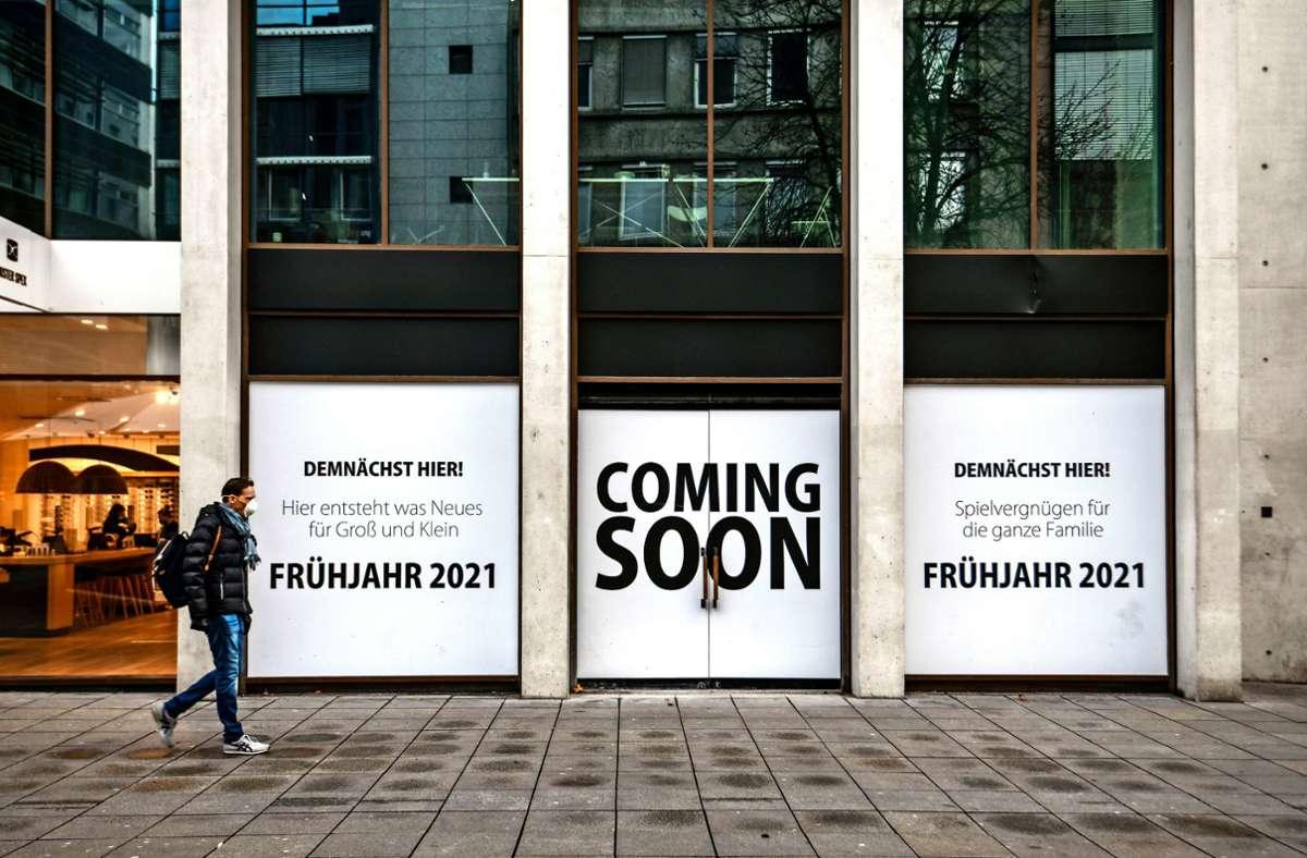 Hier könnte bald der   neue Lego-Store eröffnen. Foto: Lichtgut/Leif Piechowski