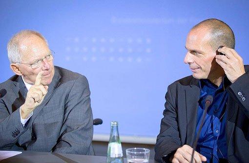 Varoufakis geht erneut Schäuble an