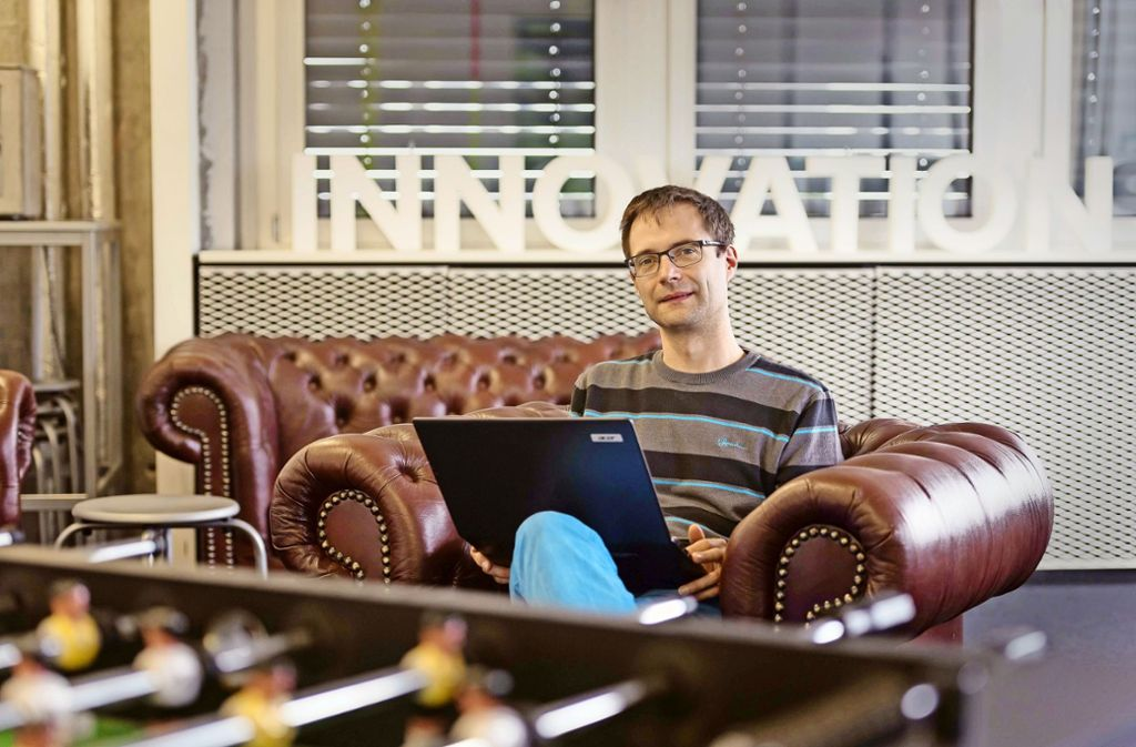 Michael Raschke ist mit dem Start-up Start-up  Blickshift auch für die Automobilindustrie tätig. Foto: Lichtgut/Max Kovalenko