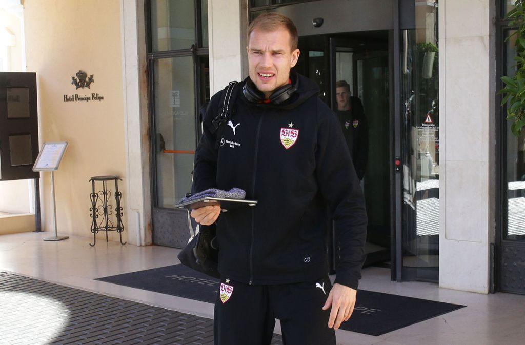 Für kurze Zeit stand ein Clubwechsel im Raum, doch jetzt bleibt Holger Badstuber beim VfB. Foto: Baumann