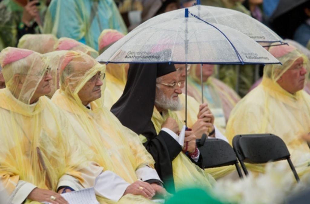 Der Katholikentag in Regensburg hat viele Facetten. Foto: dpa