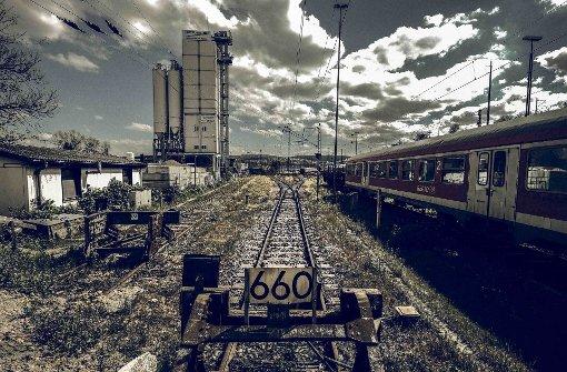 Auf dem heutigen Abstellbahnhof im Rosensteinpark sollen Wohnungen gebaut werden. Foto: Lichtgut/Leif Piechowski