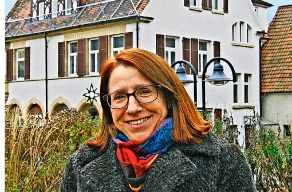 Stammheims Bezirksvorsteherin Susanne Korge schaut mit positiven Gefühlen in das Jahr 2015.  Sie hofft, dass der Stadtbezirk noch attraktiver wird. Foto: Chris Lederer