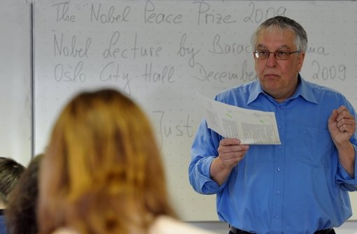 Der Landeschef des Philologenverbands, Bernd Saur Foto: dpa