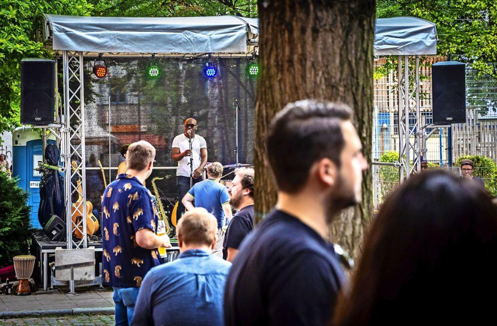 Musik und individuelle Läden sollen Besucher zum Bohnenviertelfest locken. Foto: Lichtgut/Julian Rettig