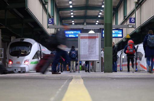 Fernverkehrszüge halten wieder weitestgehend