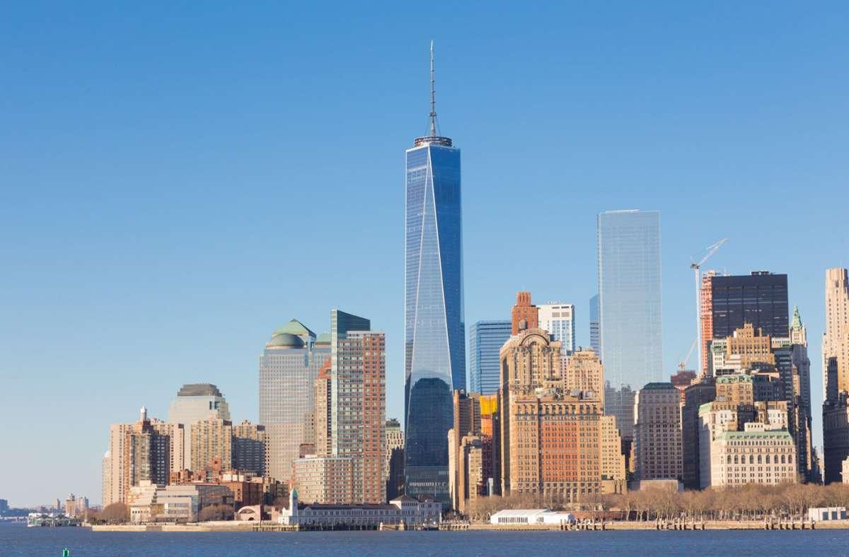 Das 1 Word Trade Center prägt heute die Skyline von New York. Foto: imago images//kasto