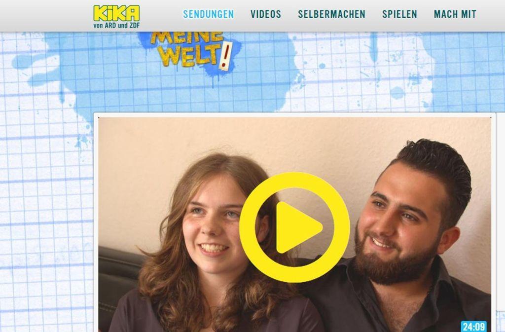 Auf der Website von Kika kann man die Dokumentation anschauen. Foto: Screenshot KiKa