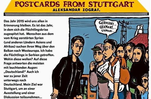 Postkarten aus der Willkommensstadt
