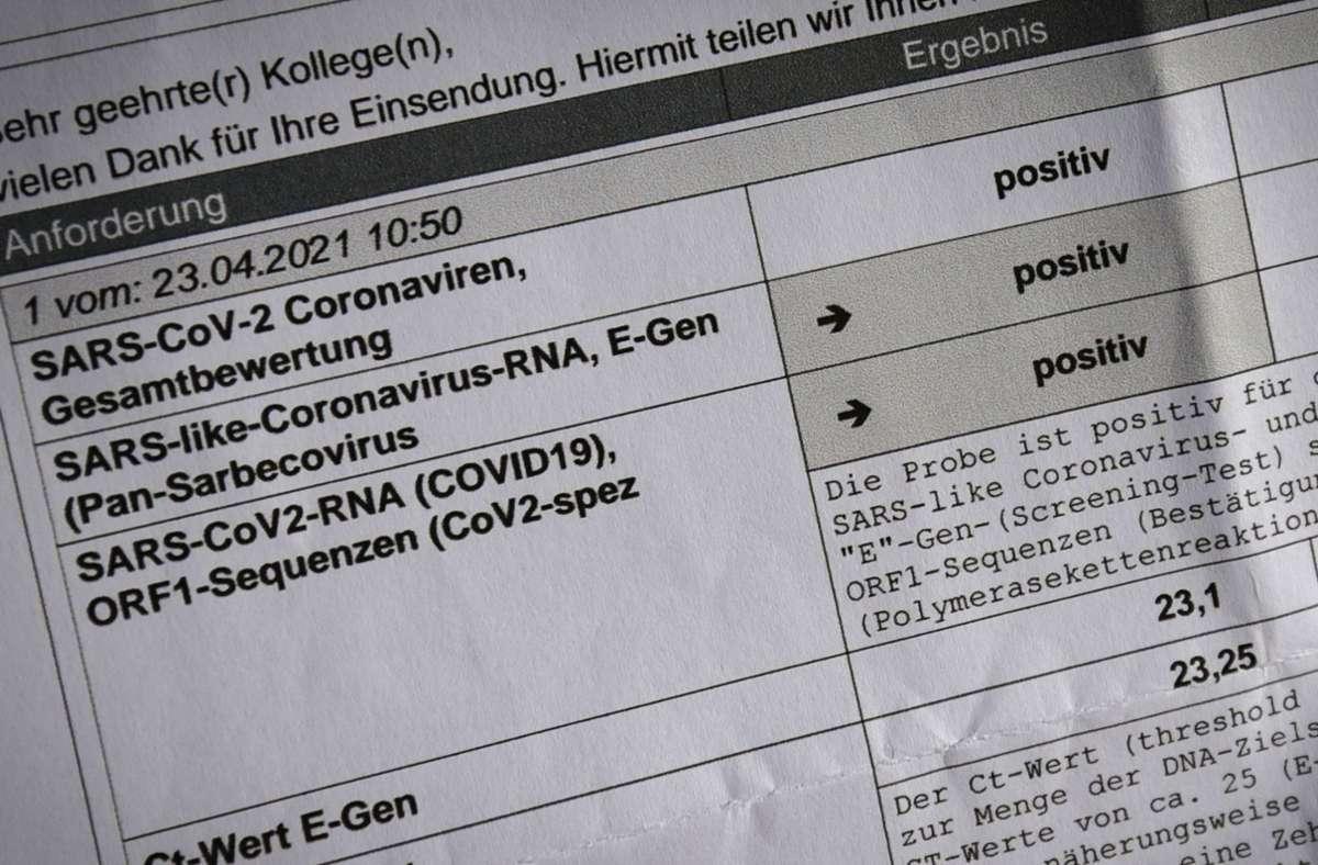 Positiv auf Corona getestet: Mit einem mindestens 28 Tage zurückliegenden PCR-Test lässt sich nachweisen, dass man als genesen gilt. Foto: LICHTGUT/Leif Piechowski