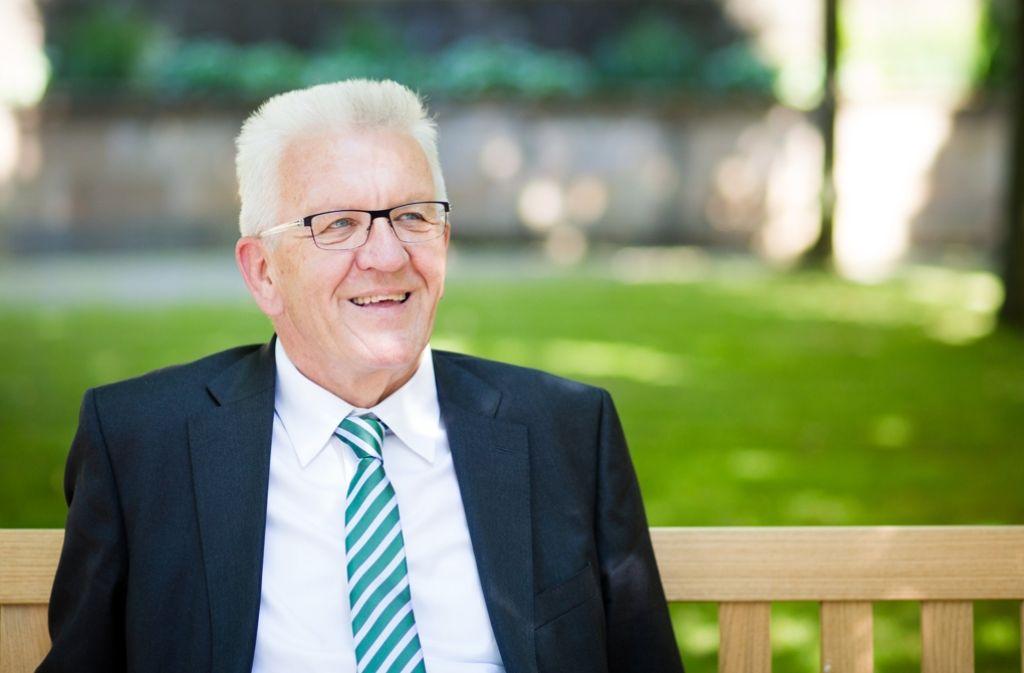 Sieht Grün-Schwarz auf einem guten Weg: Ministerpräsident Kretschmann. Foto: dpa