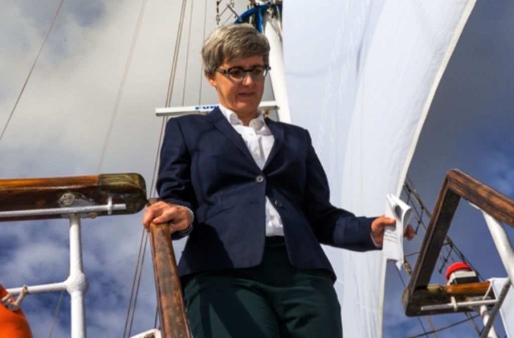 Abgang auf eigenen Wunsch; Ex-Ministerin Silke Krebs Foto: dpa