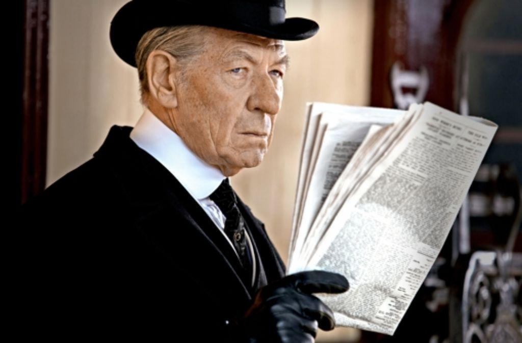 Der brillante Ian McKellen als Sherlock Holmes Foto: Verleih