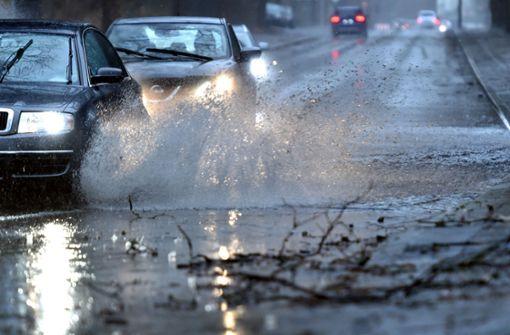 Erneut Unwettergefahr durch Gewitter am Dienstag