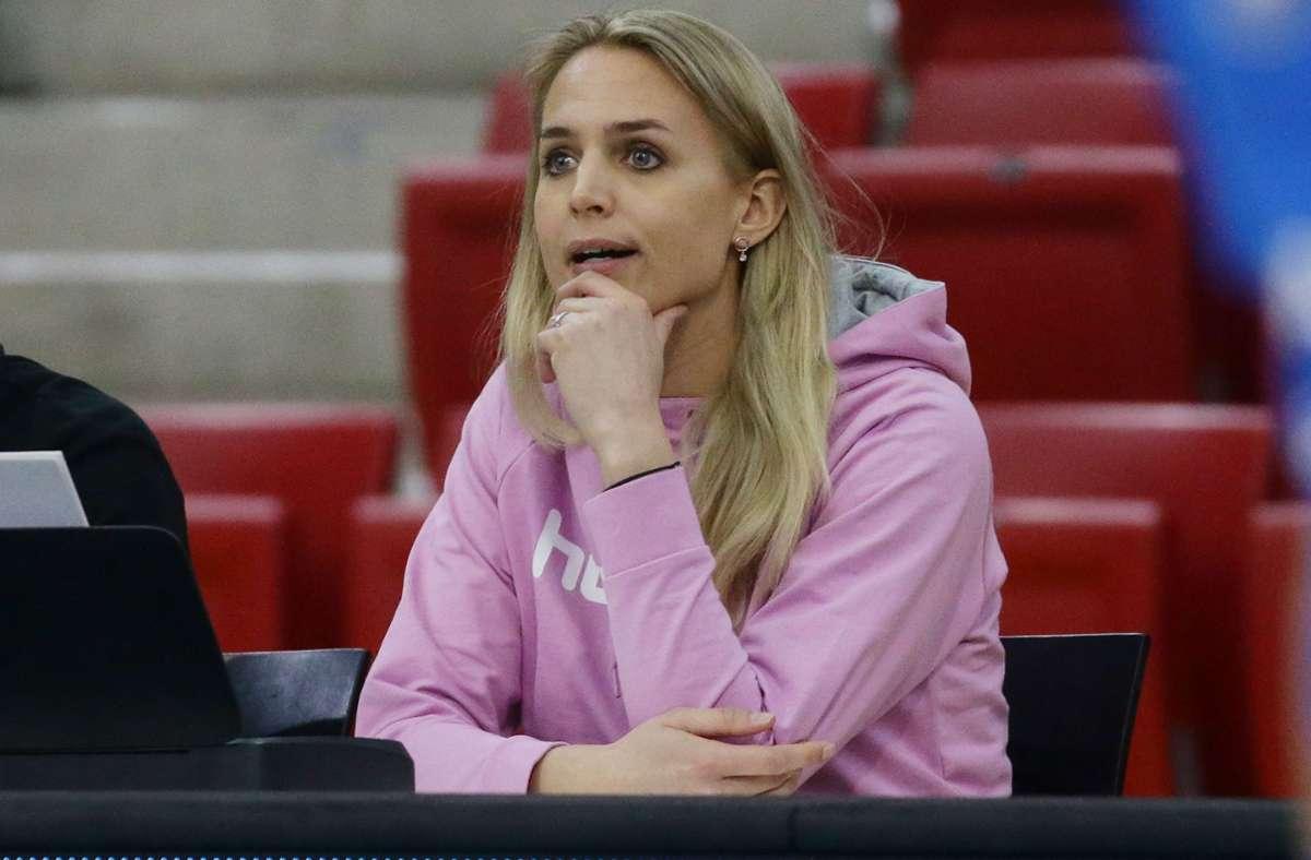Sportchefin Kim Renkema: Sind nicht der Topfavorit. Foto: Baumann