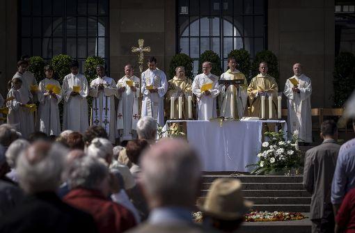 Bunte Prozessionen an Fronleichnam