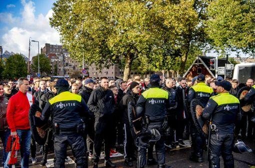 75 Festnahmen rund um Spiel von Union Berlin in Rotterdam