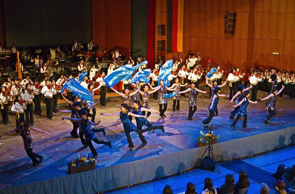 Nippon Symphony bietet nicht nur etwas für die Ohren, sondern auch viele Tanz- und Showeinlagen. Foto: Digital Camera Origin/Veranstalter